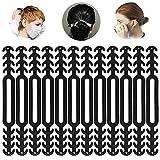 12 Stück Maskenhalter aus Silikon, Maske Extender, Maskenhaken Anti-Tightening Ohrhaken Ohrhaken für Maske Ohr Protector Haken Ohrriemen Zubehör Ohrverlängerungsmaske Schnalle Ohrenschmerzen gelindert