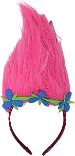 Kids' Trolls Headband with Wig for Girls - Costume Accessories - Poppy