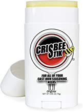 Crisbee Stik Cast Iron Seasoning - Family Made in USA - The Cast Iron Seasoning Oil & Conditioner Preferred by the Experts - Maintain a Cleaner Non-Stick Skillet