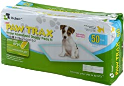 Richell Paw Trax Super Absorbent Training Pads