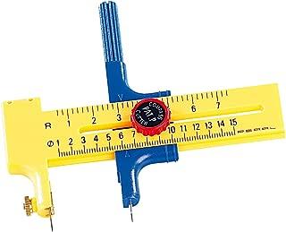 Rotationskompass Kreisschneider Papier Pappe Gummi Leder Kunsthandwerk Werkze CL