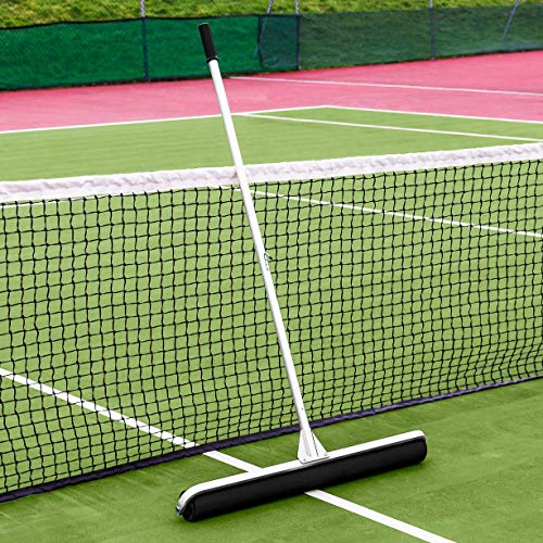 Vermont Rol-Dri Tennis Court Roller Squeegee [PU Foam] | Absorb Water from Your Tennis Courts (36in Sweep)