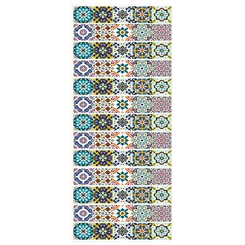 Pegatinas De Pared De Azulejos Peladas Y Pegadas A Prueba De Salpicaduras Decoración De Vinilo Autoadhesivo Decoración De La Casa DIY Sala De Estar workid-88