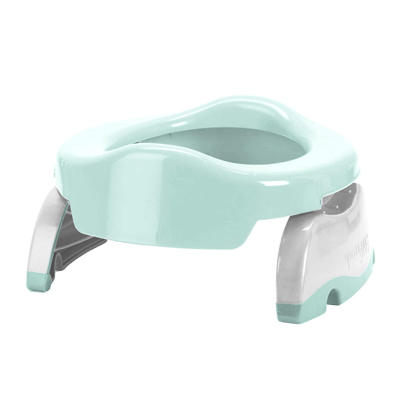Kalencom Potette Plus 2-in-1 Travel Potty Trainer Seat Pastel Mint