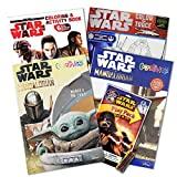 Star Wars Coloring Book Ultimate Set ~ Bundle Includes 4 Jumbo Books with Over 250 Pages (Star Wars Party Supplies)