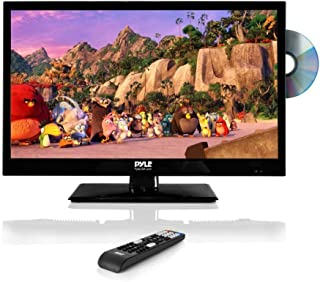 """Pyle 23.6"""" 1080p LED TV, Multimedia Disc Player, Ultra HD TV, LED Hi Res Widescreen Monitor w/HDMI Cable RCA Input, LED TV..."""