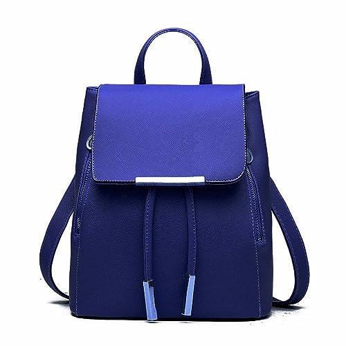 a189258480 Huabor Fashion Shoulder Bag Rucksack PU Leather Women Girls Ladies Backpack  Travel bag
