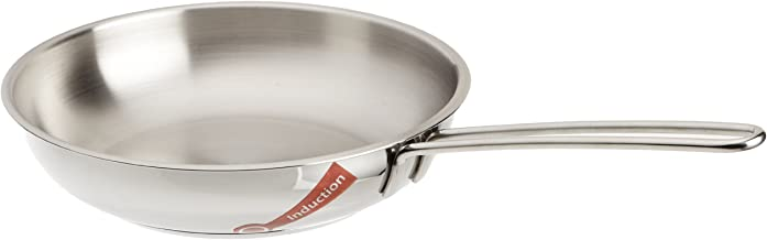 Schulte-Ufer Frying Pan Pitty, Mini, Grill Pan, Stainless Steel 18/10, 18 cm, 64052-18