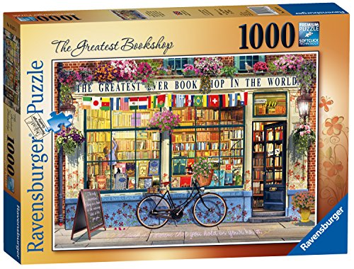 "Ravensburger, ""The Greatest Bookshop"", 1.000-teiliges Puzzle"