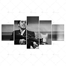 HD print Scarface canvas painting poster wall art 5 film pictures for living room home decoration white black background