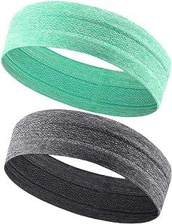 GonHui Sport Headbands for Women Men Anti-Slip Sweatbands...