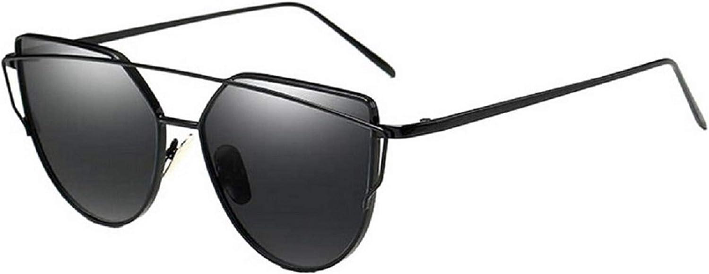 CWANIAK Sunglasses For Women Subglasses Sunglases Fishing Wayfarer Cat Eye Mirrored Flat Lenses Metal Frame Womens UV400