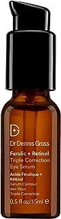 Dr. Dennis Gross Ferulic + Retinol Triple Correction Eye Serum, 0.5 Ounce