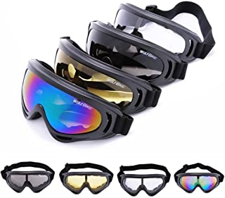 50303b07bc WOLFBIKE Super Black Motorcycle Cycling Bicycle Bike ATV Motocross Ski  Snowboard Off-road Goggles FITS
