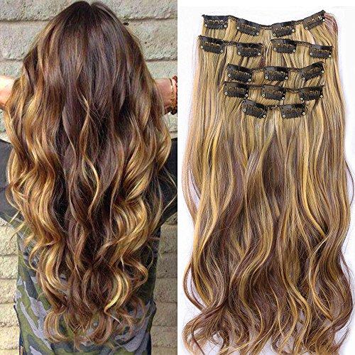 Extension per capelli, composta da 7 pezzi con...