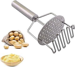 (أنت بطاطا ماهرة البطاطس تصميم مزدوج الضغط من الفولاذ المقاوم للصدأ مثالي لصنع البطاطا المهروسة ، موز ، اليقطين والخضروات ...