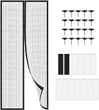 LYTIVAGEN 90 x 210 cm magnetisch vliegengaas deur insectenbescherming gordijn balkondeur muggennet voor balkon, woonkamer ...