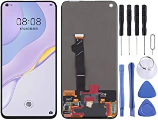 SHUHAN LCD Screen Phone Repair Part LCD Screen and Digitizer Full Assembly for Huawei Nova 7 5G Mobile Phone Accessory