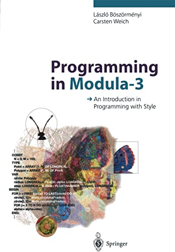 Books By Carsten Weich_programming In Modula 3 An Introduction In ...