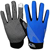Summer Cooling Cycling Gloves Full Finger Touch Screen for Women Men Breathable Non-slip Motorcycle...