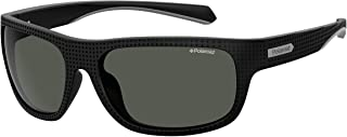 Polaroid Mäns PLD 7022/S solglasögon, flerfärgad (svart), 63