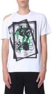 raf simons white t shirt