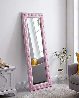 آینه صورتی کریستال خانگی نائومی