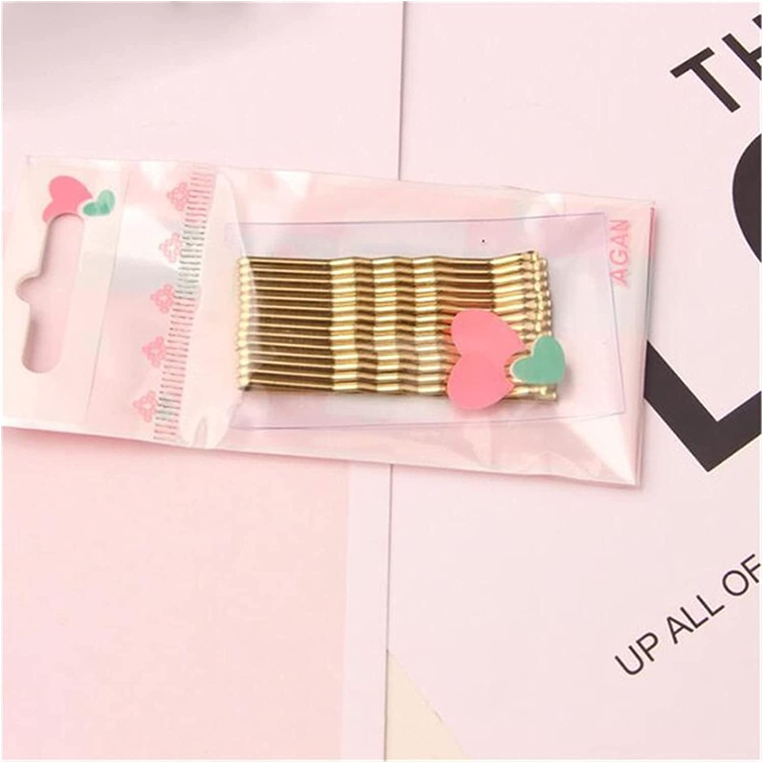 MINGQIMY Hairpin Simple Hair Clips Curved 5 ☆ popular Wave Flat Max 80% OFF Styl