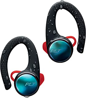 Plantronics BACKBEAT FIT 3100 Bluetooth-Sport Headset/Headphones, in-Ear, IP57 with Charging case, Black