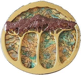 Pa/ñuelos o Ponchos con Piedras de Estr/ás Se/ñora 05050029 Broche styleBREAKER Colgante de Adorno magn/ético del /árbol de la Vida para chales