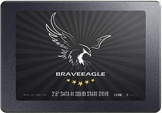 BRAVEEAGLE SSD 240GB SATA 3 内蔵型 SSD 2.5インチ 高性能 5年保証 正規代理店保証品 (240GB SSDドライブ)