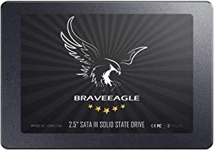 BRAVEEAGLE SSD 120GB 2.5 inch SATA 3.0 Solid State Drive 7mm for PC/Laptop (SSD Drive 120GB)