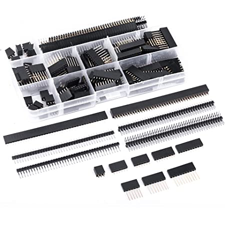 Double Hilitchi 90pcs 2.54mm Stackable Shield Female Pin Header Assortment Kit
