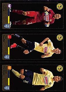 2015-16 Panini FIFA 365 Stickers #623-624-625 Moises Munoz/Paul Aguilar/Osvaldo Martinez
