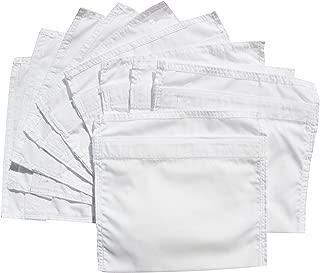 HoboTraveler.com 10 Large Secret Pockets Velcro For Money, Alternative To Money Belts, Ready To Sew In Pants