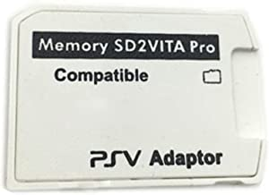 XBERSTAR Newest Version 5.0 SD2Vita PS Vita Micro SD Memory Card Adapter Fast Loading for PSV Game 1000/2000 3.60 System