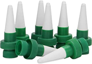 Set of 8 Ceramic Plant Watering Spikes | Automatic Waterer | Plant Watering Devices | Watering System | Drip Irrigation Kit | M&W