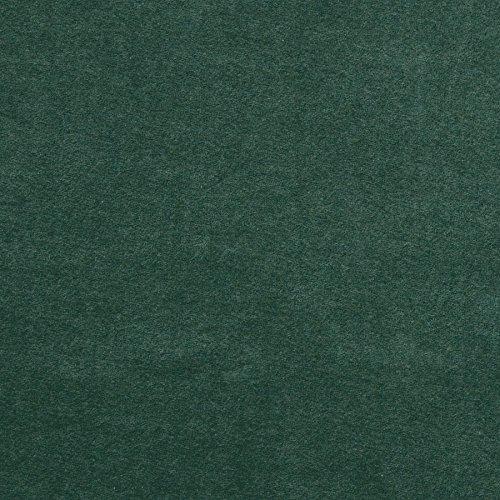 Nicki Stoff melange, weiche Baumwolle GOTS, dunkelgrün (3-079) 0,5m
