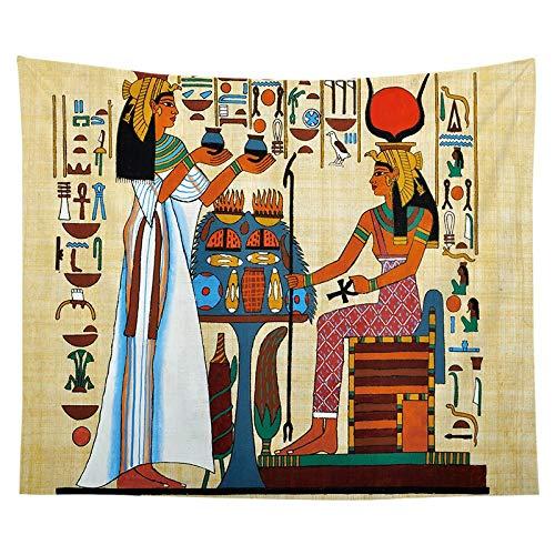 Tapiz del faraón egipcio antiguo pintura famosa colgante de pared pirámide pirámide estera de yoga toalla de playa tapiz egipcio a15 150x200cm
