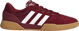City Cup (Collegiate Burgundy/White/Gum4) Men's Skate Shoes-9
