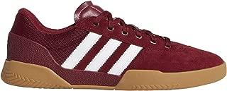 adidas City Cup (Collegiate Burgundy/White/Gum4) Men's Skate Shoes-9