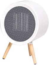 Hxsm Calefactor Eléctrico Bajo Consumo Mini Calentadores Escritorio pequeño Escritorio de Oficina Calentador de energía pequeño, Blanco