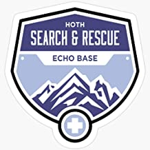BeliNZStore Hoth Search and Rescue Stickers (3 Pcs/Pack)