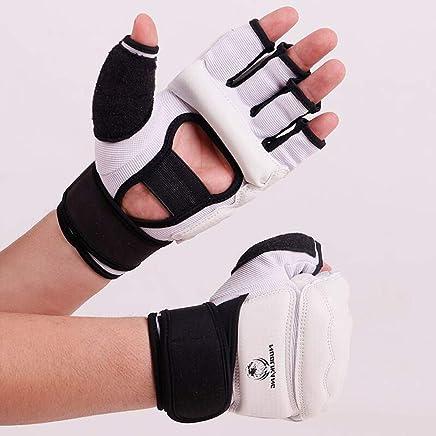 Boxing Boxing Handschuhe Erwachsene Kinder Sanda Handschuhe Weibliche Kampf Halbe Finger Sandsack Training Taekwondo HandschuheWeißM B07P6RHS3B       Ausgang