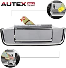 AUTEX Chrome Metal Tailgate Handle Liftgate Truck Rear Hatch Door Handle Compatible with Toyota Pickup 1989 1990 1991 1992 1993 1994 1995 Tailgate Handle 77058