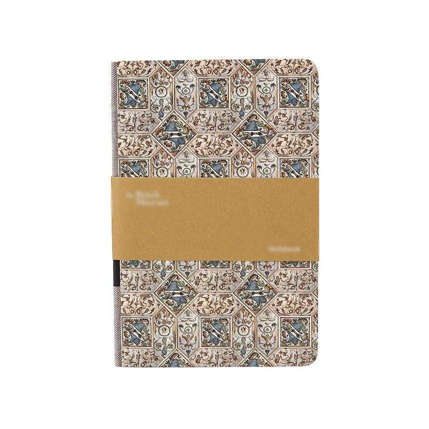 ノートを厚くする ノート128ページハンドブックノートノート白紙A5厚手作業記録帳ノート (Color : Yellow, サイズ : 18.5*12.5cm)