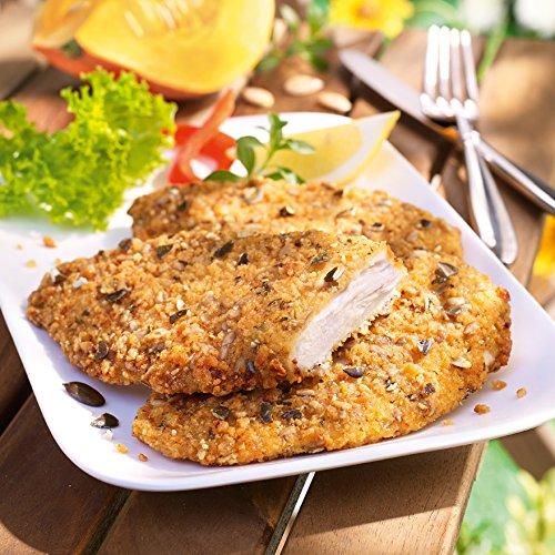 Besser Hähnchen-Brustfilet mit Kürbiskernen; 750 g, 5 Stück
