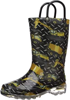 Western Chief Kids' Light-up Waterproof Rain Boot