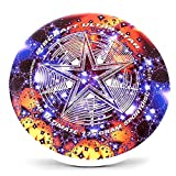 Discraft Supercolor Ultra-Star 175g Ultimate Disc + Free Mini Frisbee + Ultimate Disc Sticker (USA Ultimate Approved) - Starscape