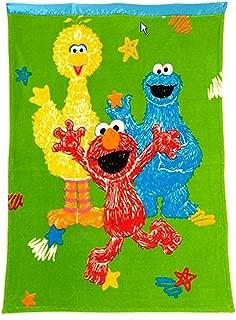 Sesame Street Toddler Blanket - Elmo & Friends